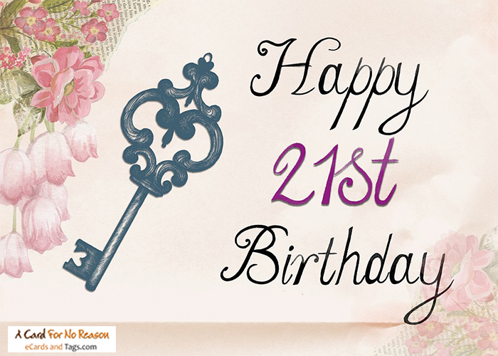 Animated ecards Birthday ecards – 21st Birthday E Cards